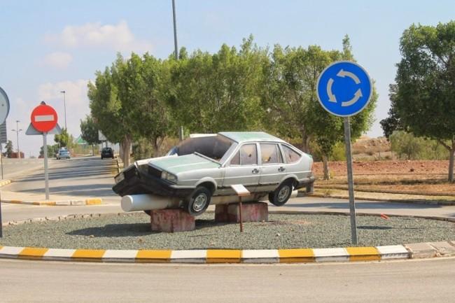coche partido murcia