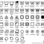 Qué significan los símbolos de las etiquetas de ropa
