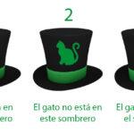 El acertijo infernal: ¿En qué sombrero está el gato?